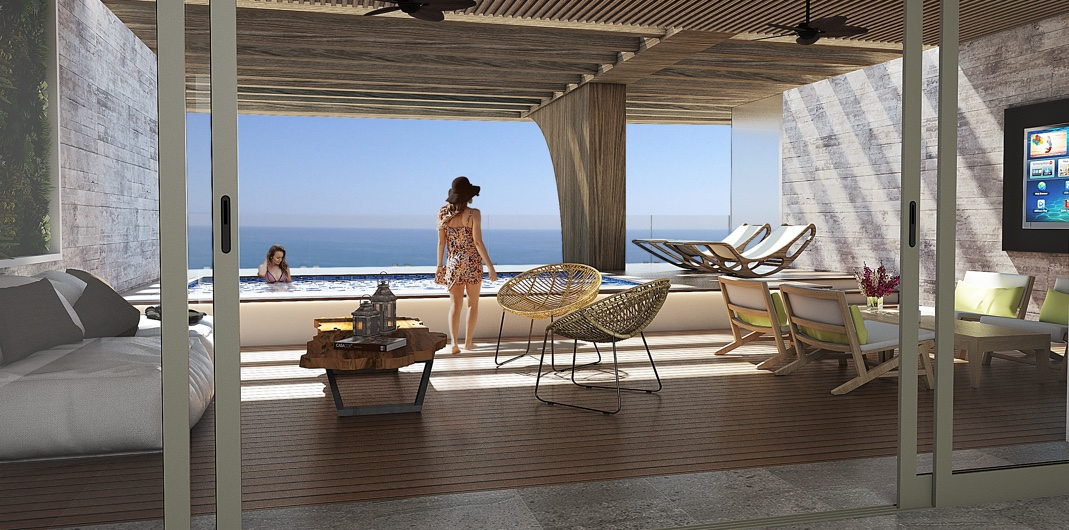 Imperia beach tower penthouse